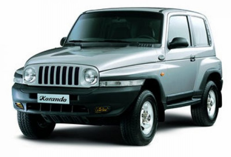 Photo: Daewoo Korando 2.3 D.